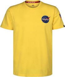 T-SHIRT ALPHA SPACE SHUTTLE PRIME YELLOW