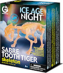 Geoworld Ice Age Night Sabre Tooth Tiger