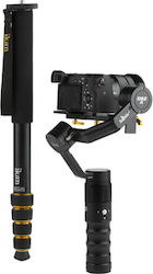 Ikan Beholder 3-Axis Gimbal & 5 Section Monopod Extension Kit DS2-A-MPA70-KIT