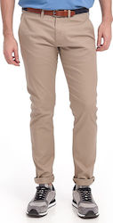 SHHYARD SAND STRUC SLIM PANTS HERITAGE CHINO ΤΗΣ SELECTED - 16061127 ΜΠΕΖ