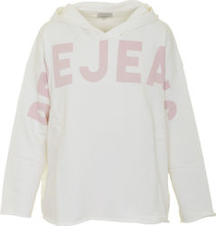 PEPE JEANS W E3 ANGEL HERO TOP - PL580569-808 WHITE