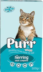 Wagg Complete Cat Food With Herring 0.5kg