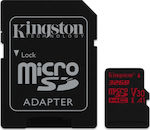 Kingston Canvas React microSDHC 32GB U3 V30 A1 with Adapter