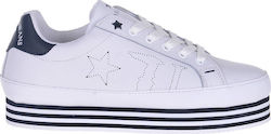 TRUSSARDI SNEAKERS 79A00129-WHITE