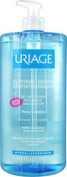 Uriage Extra-Rich Dermatological Gel Sensitive Skin 1000ml