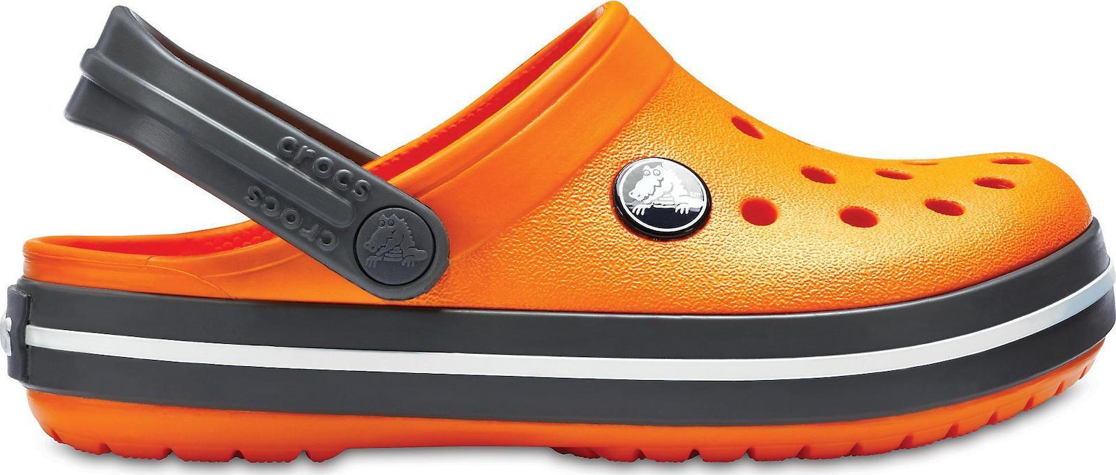 Προσθήκη στα αγαπημένα menu Crocs Crocband Kids Blazing Orange Slate Grey  204537-82N 77c5d753325
