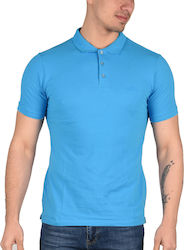 Keep Out Polo T-Shirt Ανδρικό Turquoise KO-1500 1685521