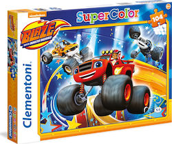 Blaze and The Monster Machine 104pcs (1210-27972) Clementoni