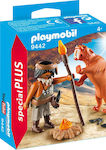 Playmobil Special Plus: Neanderthal Man with Saber Tooth Tiger