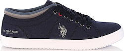 US POLO - Sneakers - ΜΠΛΕ - STEWART1 TEXTILE ΑΝΔΡ. ΥΠΟΔΗΜΑ