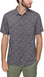 QUIKSILVER VARIABLE SS SHIRT IRON GATE