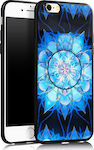 OEM Pop Mobile Stand Back Cover Blue Mandala (iPhone 6/6s)