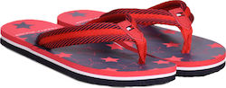 TOMMY FLIP-FLOP STARS(Red) T3X0-00137-0058-X049 Red