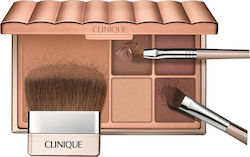 Clinique Foundation & Powder Kissed By The Sun Bronzing Palette