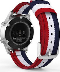 OEM Tech-Protect Welling Samsung Gear S3 (Navy/Red)