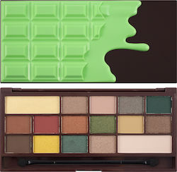 Revolution Beauty I Heart Makeup I Heart Chocolate Mint Chocolate