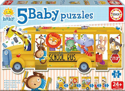 Animals School Bus 19pcs (17575) Educa