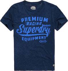 Superdry D1 Prenium Equipment Tee Blue