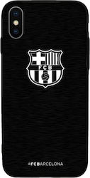 Forever Collectibles Barcelona Back Cover Μεταλλικό Μαύρο (iPhone X/Xs)