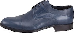 VERRAROS UOMO 35 BLUE LEATHER ST
