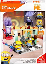 Mattel Mega Construx Despicable Me Lair Break-In 77τμχ