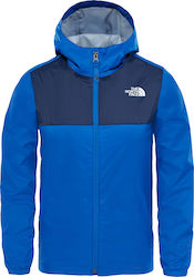 The North Face Zipline Rain Jacket T92U3TWXN Μπλε