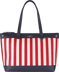 Pauls Boutique Olympia PBN126867 Stripped White / Red