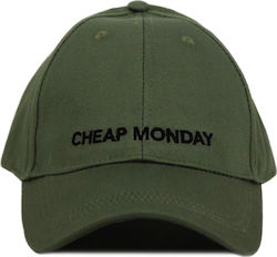 Cheap Monday Baseball Cap Bleached Olive (0518078 402)