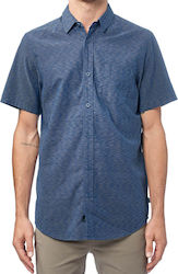 GLOBE PAST LIVES SS SHIRT OMBRE BLUE