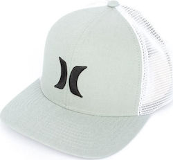 HURLEY Καπέλο ONE & TEXTURES TRUCKER 892032 CLAY GREEN
