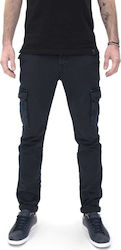 DIRTY LAUNDRY TROUSERS CARGO ΠΑΝΤΕΛΟΝΙ ΑΝΔΡΙΚΟ DIRTY LAUNDRY ΜΠΛΕ (DLMP0318S)