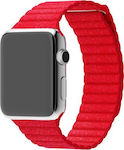 Leather Loop for Apple Watch 42mm (Red)