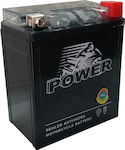 Power Batteries Gel 6Ah (YTZ7S)