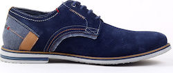 Wrangler Tower Derby Oxford WM181100 BLUE