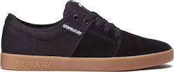 SUPRA STACKS II SHOES BLACK/GUM