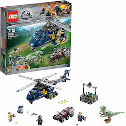 Lego Jurassic World: Blue's Helicopter Pursuit 75928