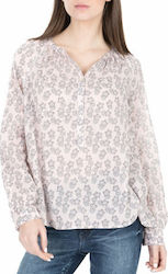 SCOTCH & SODA - Γυναικεία πουκαμίσα Scotch & Soda Lightweight cotton top nude