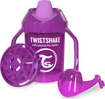 Twistshake Mini Cup 4+m Purple 230ml
