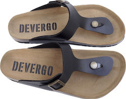 Devergo timothy de-im2024le slippers Μαύρο Devergo