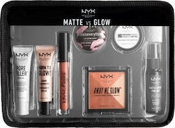 Nyx Professional Makeup Matte VS Glow Jet Set 7pcs Travel Kit