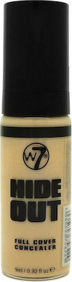 W7 Cosmetics Hide Out Full Cover Concealer Medium 9ml