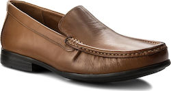 Μοκασίνια CLARKS - Claude Plain 261243167 Tan Leather