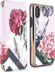 Ted Baker Mirror Folio Amelie Palace Gardens (iPhone X/Xs)