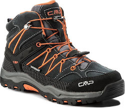 Μποτάκια πεζοπορίας CMP - Kids Rigel Mid Trekking Shoes Wp 3Q12944 Asphalt U883