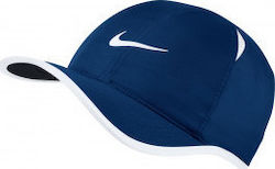 Nike NikeCourt AeroBill Featherlight Tennis Cap 679421-408 Blue