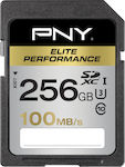 PNY Elite Performance SDXC 256GB U3