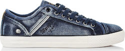 Sneakers Wrangler Starry Low Denim WM181031