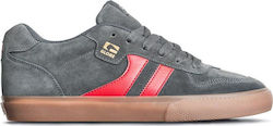 GLOBE ENCORE 2 SHOES CHARCOAL/GUM/RED