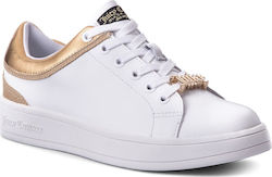 Αθλητικά JUICY COUTURE BLACK LABEL - Jelly JB159 White/Gold