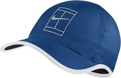 Nike NikeCourt AeroBill Featherlight Tennis Cap 864105-433 Blue